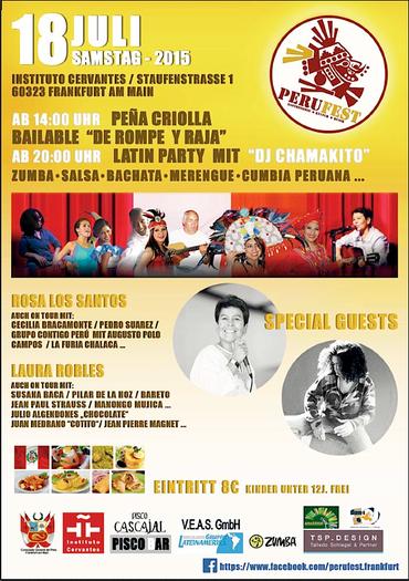 12. PERU FEST 2015 FIESTA PERUANA