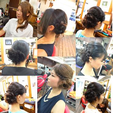 横浜の無責任美容師☆奥条勇紀☆ヘアセットで楽しい結婚式を・・・(^^♪