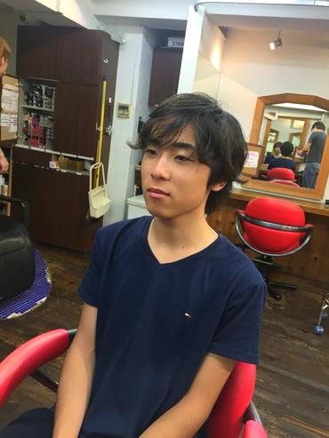 横浜の無責任美容師☆奥条勇紀☆当ブログでは珍しいゲストさん
