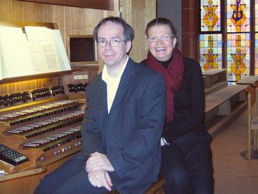 Martina Garth und Wolfgang Valerius