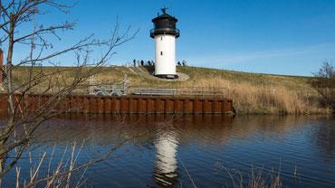 Der restaurierte Leuchtturm Dicke Berta