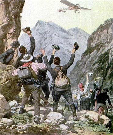 illustrazione dell'epoca