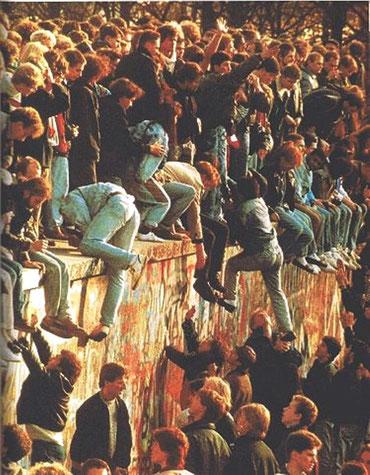 Indtagelse af muren, Berlin i november 1989