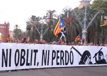 """""""Intet glemt, intet tilgivet"""" (catalansk)"""
