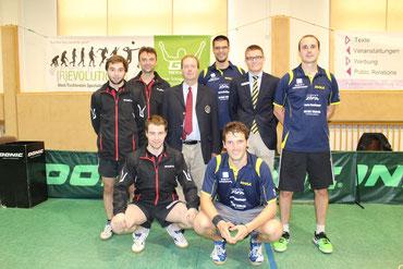 Michael Kufmüller, Radovan Debnar, Martin Kinslechner traten gegen Christian Seyrlehner, Thomas Daxböck & Clemens Gal an.