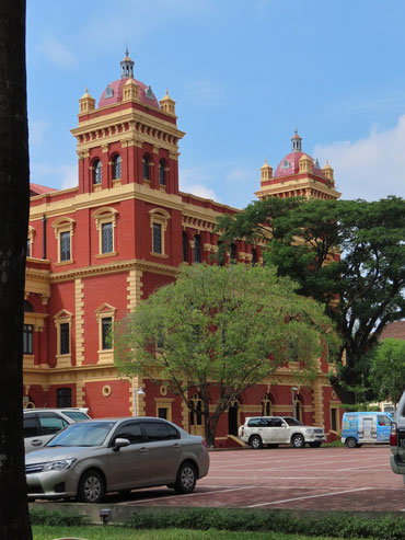 Minister's Office in Yangon