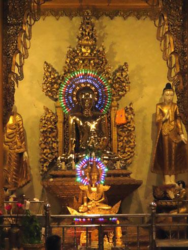 Wunscherfüllungshalle in der Shwedagon
