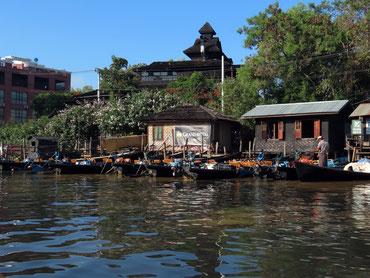 Kanal bei Nyaungshwe