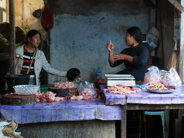 Markt in Kalaw