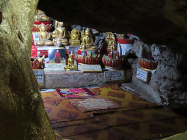 Meditationshöhle in Pindaya
