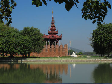 Palast in Mandalay