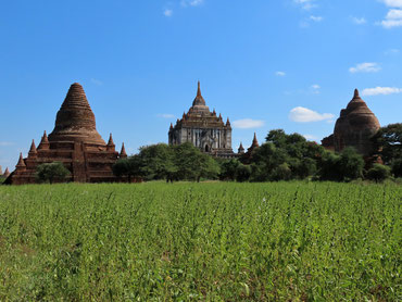 That Bin Nyu Tempel in Bagan