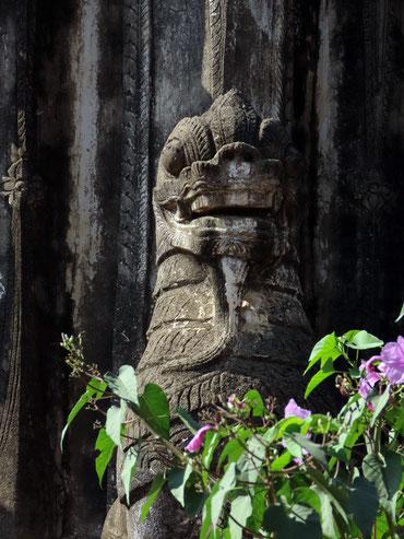 ein steinerner Wächter in A Myint