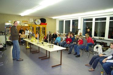 Bild Blaskapelle Meeder - Instrumente vorgestellt
