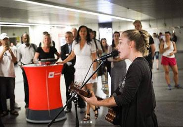 Musikerin Kim Tamara. Foto: PID/Christian Führtner
