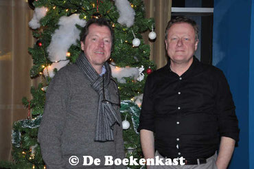 Siniscoop-manager Yves Elegeert en Peter Brosens