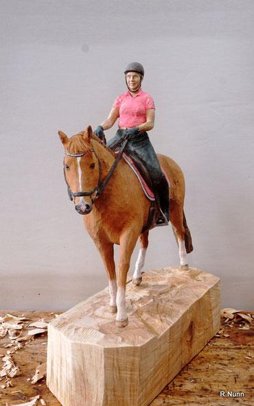 Reiterskulptur
