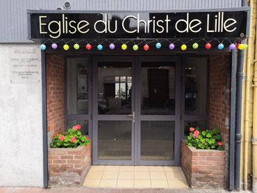 Salle de l'église du Christ au 89 rue de bapaume à Lille