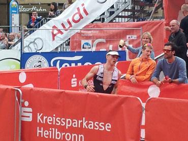 Dominik Sowieja Challenge Heilbronn Zieleinlauf