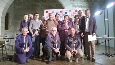 Les lauréats du Tournoi de Dole