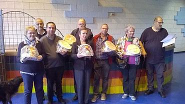 Les lauréats du Semi-Rapide à Réchésy