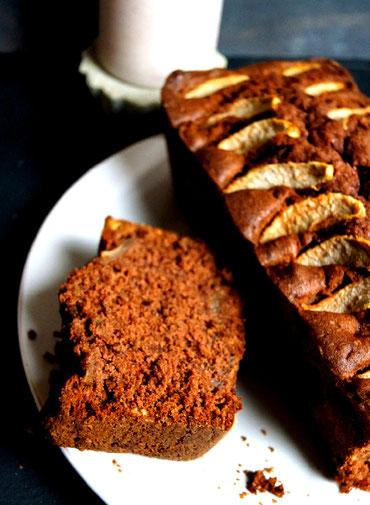 Rührkuchen, so schokoladig, fruchtig, nussig, wie es einfach ab und zu sein muss...