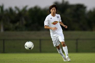 コロラド・ラピッズに指名された山田晃平選手 Photo by MLS. All Rights Reserved
