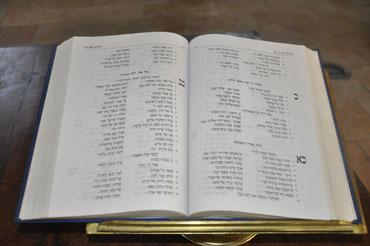 Священное Писание на еврейском языке в Церкви Христа