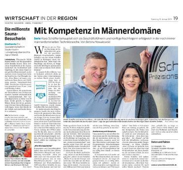 Generationenwechsel bei der Adam Schäffer GmbH.