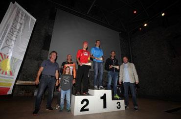 Steffen auf dem Stockerl (Foto: www.radclub-reutte.at)