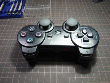 PS3コントローラーの清掃後