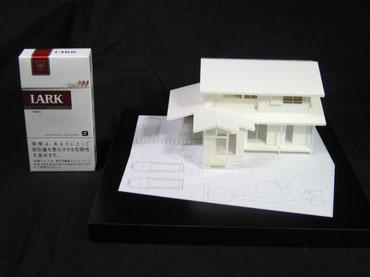 1/100簡易分解型の和風の住宅模型