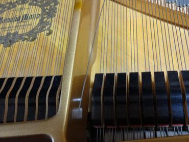 ドイツ製「レスロー」という弦 張り替え。