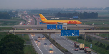 The 757Fs are the backbone of DHL's European freighter fleet.