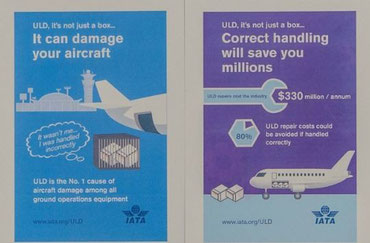 ULD damages amount to staggering $330 million per year  -  source: IATA
