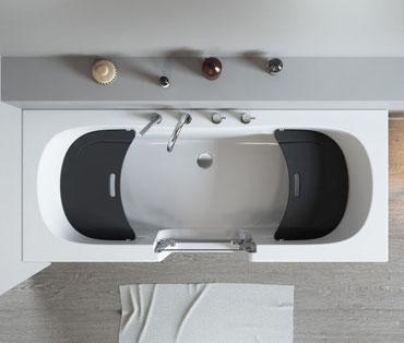 QUINTO mit herausnehmbarem Sitz aus Polyethylen