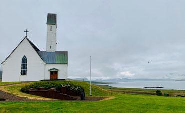 Hallgrímskirkja Saurbæ, Hvalfjörður. Foto di Alessia Paionni