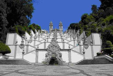 Die Basilika Bom Jesus