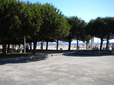 Strand in Gijon
