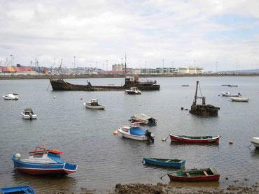 Der Hafen von Sandander