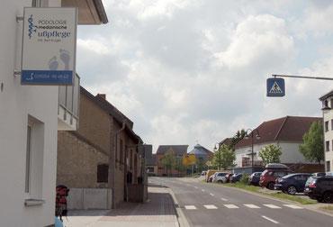 Die Podologische Praxis der Medizimischen Fußpflege befindet sich nun in der bahnhofstr. 18