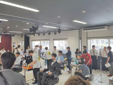 2018年鹿児島県理容競技大会が開催された(2018.6.18)