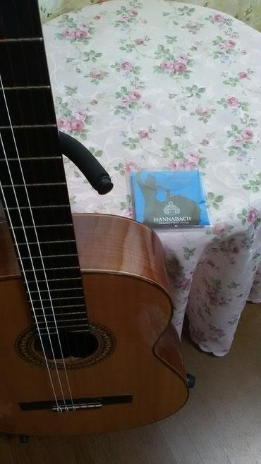 ハナバッハのクラシック弦フラメンコ弦はカラフル
