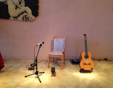 ホテルでランチタイム・ギター・コンサート