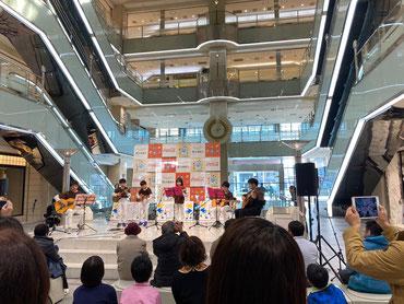 金沢のまちなかキッズにICMF小学生ウクレレギターキッズが出演☆