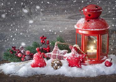 Weihnachtsdecko
