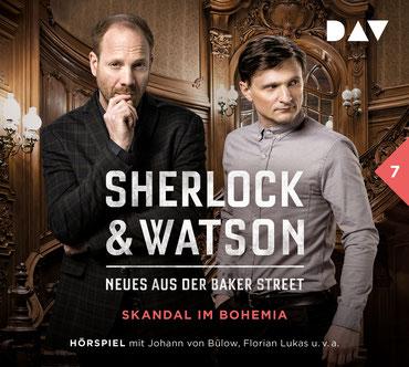 CD-Cover Sherlock & Watson Fall 7