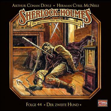 CD-Cover Sherlock Holmes Der zweite Hund