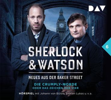 CD-Cover Sherlock & Watson Fall 6