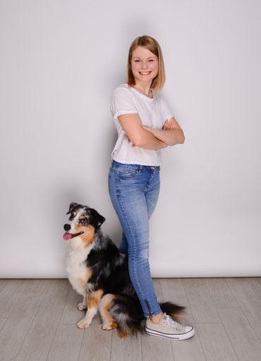 Nina Steffensky - zertifizierte Tierphysiotherapeutin und -heilpraktikerin